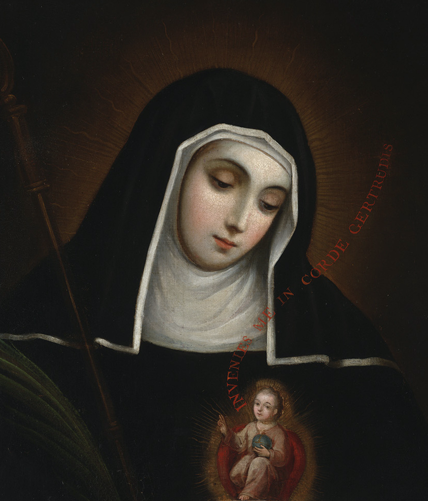 Photo of St. Gertrude the Great